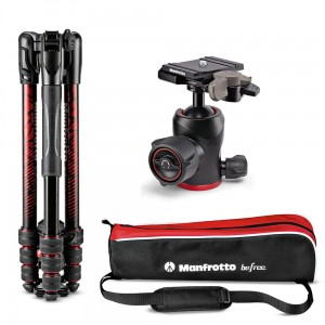 Statyw Manfrotto Befree Advanced Aluminum Travel Tripod twist, ball head