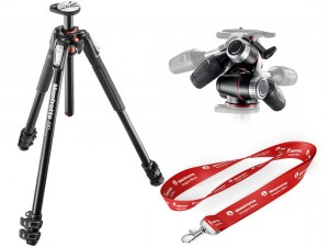 Statyw Manfrotto MT190XPRO3 z głowicą MHXPRO-3W