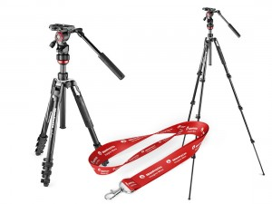 Statyw + głowica Manfrotto Befree Live Lever