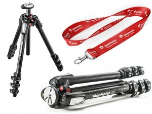 Statyw Manfrotto MT055CXPRO Carbon, 4 sekcje