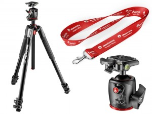 Statyw Manfrotto MT055XPRO3 + głowica MHXPRO-BHQ2
