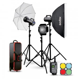 Zestaw Godox GSII flash kit (2xGS200II 1xGS400II)