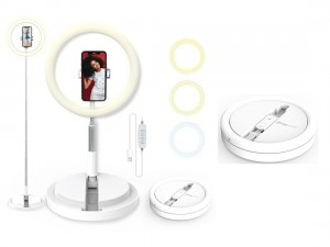 "Invisilight 11"" Foldable Ring Light"