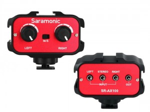 Adapter audio Saramonic SR-AX100