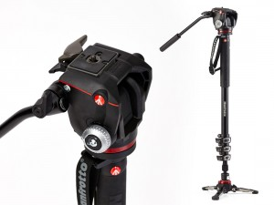 Monopod Manfrotto XPRO z głowicą Video RC2
