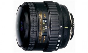Tokina AF 10-17mm f.3.5-4.5 AT-X DX NH Fisheye Nikon