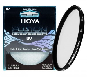 Filtr Hoya Fusion Antistatic UV 58 mm