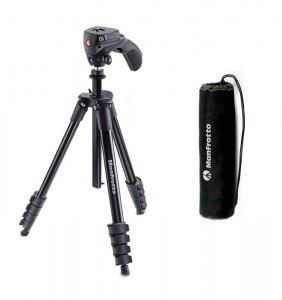 Statyw Manfrotto Compact Action czarny