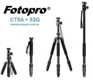 Statyw FotoPro - CT-5A + 52Q